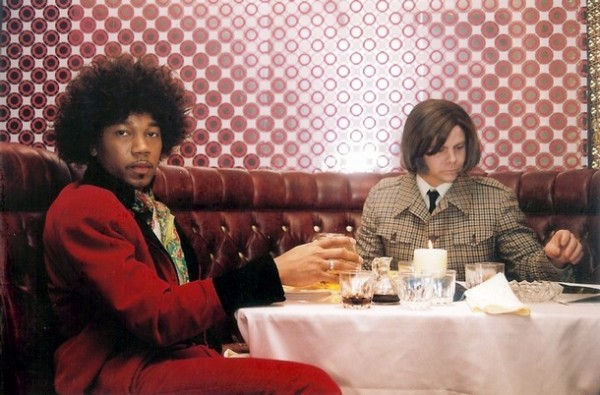 """Scene from film """"My Dinner with Jimi"""" undated publicity photograph"""