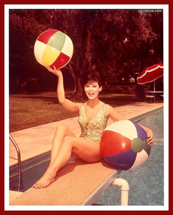 Yvonne Craig Beach Ball
