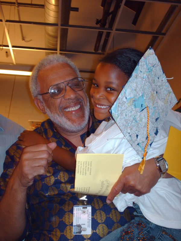 Al Moody and Granddaughter