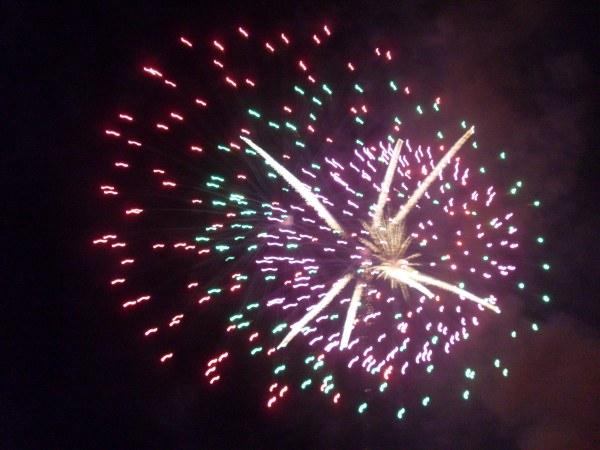 fireworks by Maryanne