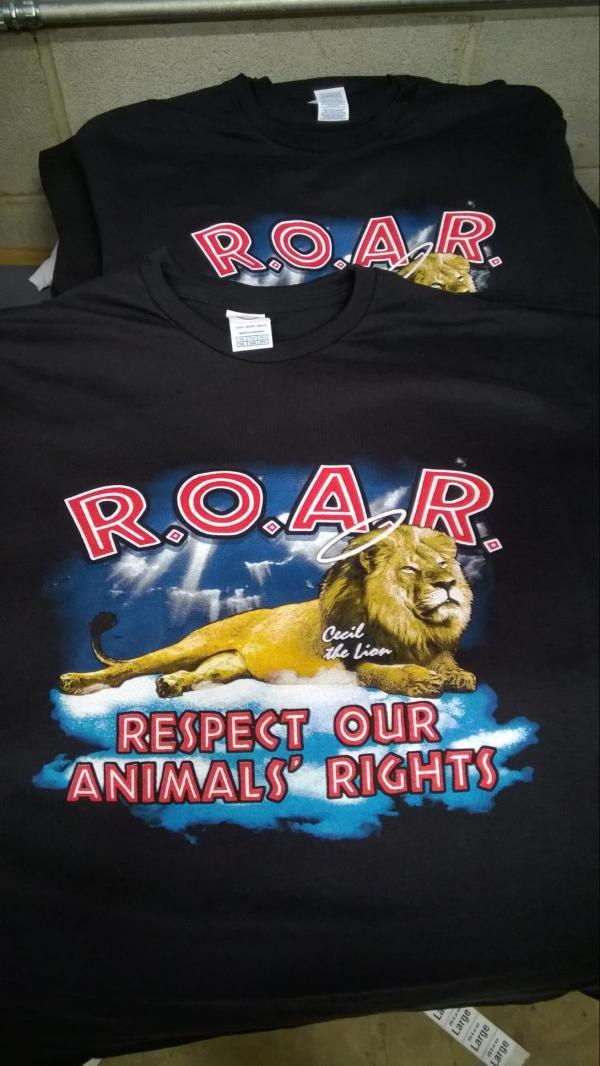 R.O.A.R. t-shirt