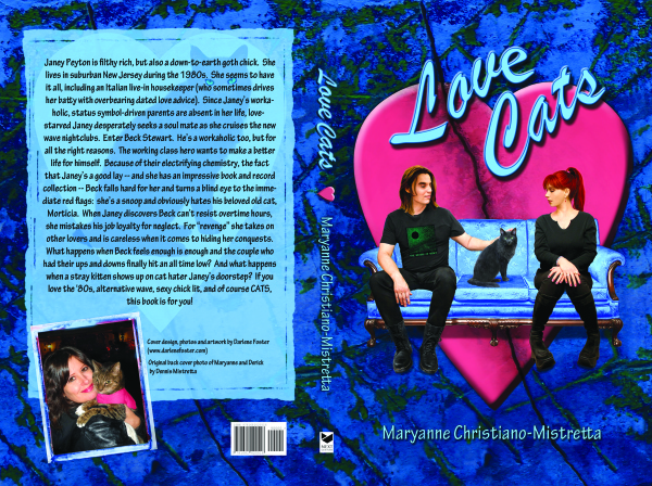 Love Cats front and back cover