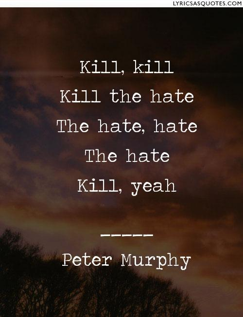 Kill the Hate