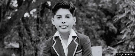 Freddie Mercury as a Boy